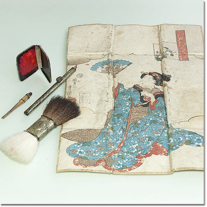 Make-up-Ausstattung aus Japan